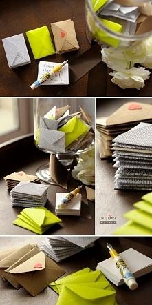 niebanalna księga gości czyli kolorowe koperty