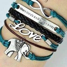 Retro Romantic LOVE Elephan...