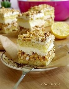 Ciasto Biały Lion - przepis po kliknięciu na zdjęcie.