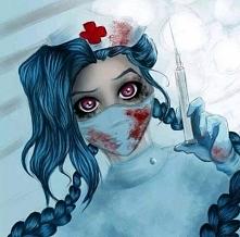 Kto by chciał taką pielęgniarkę ? c;