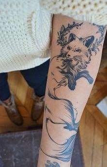 Podoba mi się taki delikatny tatuaż :)