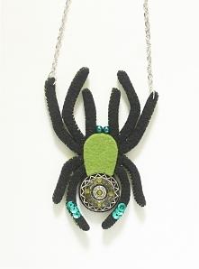 naszyjnik - pająk
