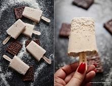 """""""Cookies & cream"""" - ciasteczkowe lody na gęstym mleku kokosowym. Obłędnie kremowe, zdrowe i pyszne. Prosty przepis już na blogu, zapraszam."""