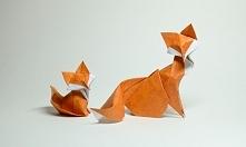 Liski z origami