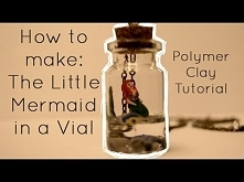 The Little Mermaid - Polymer Clay Tutorial