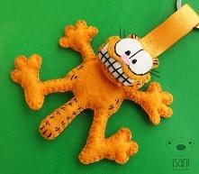 breloczek z filcu Garfield