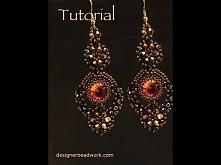 "Video Tutorial - Earrings ""Comparsita"""