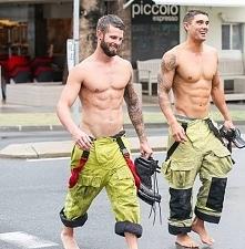 Amerykańscy strażacy mrrrr..