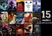 """Większości książek nie kojarzę. Znam tylko """"Percy Jackson i Bogowie Olimpijscy"""", """"Łza"""" i """"Spętani przez bogów"""". Czy ktoś może zna jakieś książki zw..."""
