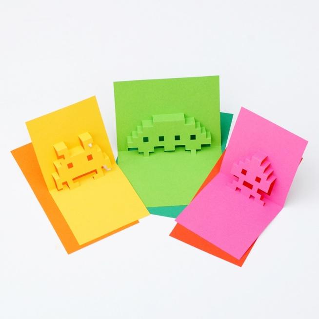 ••8-Bit Pop Up Card