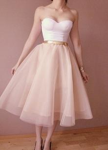 Tiulowa spódnica + gorset - komplet do kupienia wesele imprezy