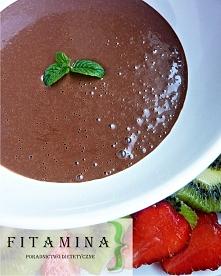 Wysoko- magnezowy deser czekoladowy. Niedobór magnezu w diecie jest naszym wr...