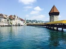 Luzerna, Szwajcaria Kapellbrücke daisies.blog.pl