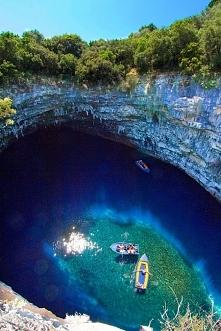 Melisani Lake, Kefallonia, Grecja