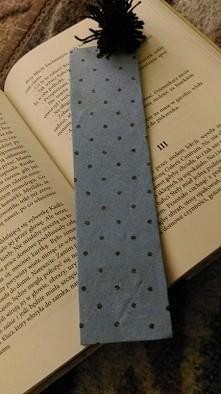 Własnoręczna zakładka do książki