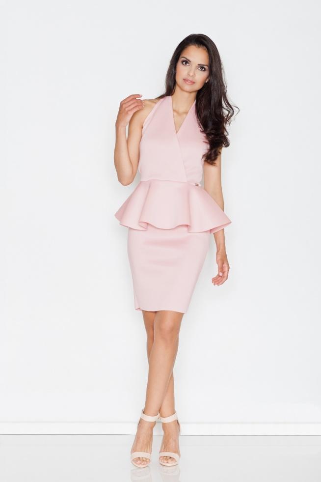 Ekskluzywna sukienka z baskinką. Znajdziecie na--> fashionata.pl