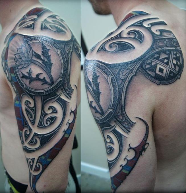 Tatuaż Na Ramieniu Na Tatuaże Zszywkapl