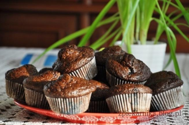 Cukinia, czekolada, migdały - oto przepis na cudne muffinki :) łakocie w wersji super light :)