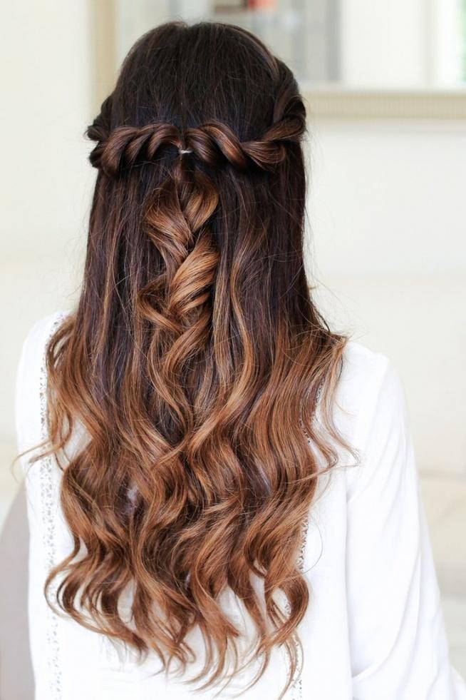 Fryzury Na Wesele Z Długich Włosów Na Włosy Zszywkapl