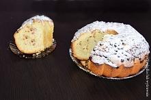 Delikatne ciasto z porzeczkami