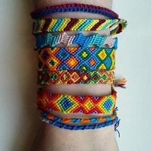 Zapraszam do zamawiania :D na fb -> Demimoz - bransoletki z muliny :)