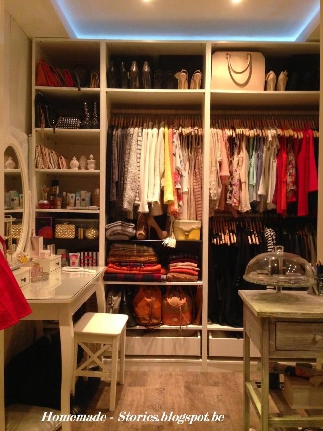 Moja garderoba :)  Porady jak organizować garderobę na moim blogu: homemade-stories.blogspot.be