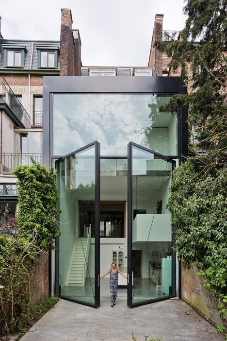 ••Antwerp townhouse