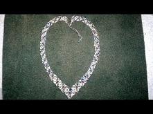 Beading4perfectionists: V-necklace for beginning beaders beading tutorial (vi...