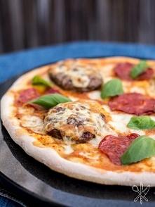 Chesseburger pizza  Przepis po kliknięciu w zdjęcie! :)