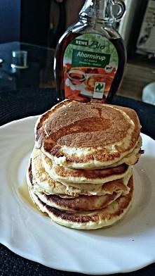 otrębowe pancakes :)