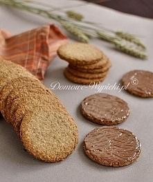 dietetyczne ciasteczka  100g mąki pszennej pełnoziarnistej, 100g płatków owsi...