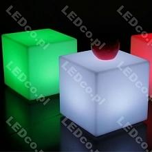 Świecące meble kostki LED Q...