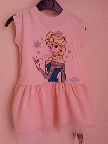 sukienka Elsa 12-18 mscy 22 zł fb/prezentyoryginalne