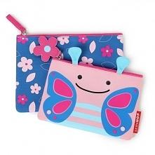 Little Kid Cases to zestaw dwóch praktycznych saszetko-kosmetyczek zamykanych...