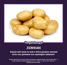 szybciej ugotowane ziemniaki