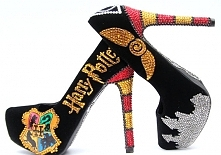 Harry Potter Heels Hand Painted with Swarovski Crystals <3