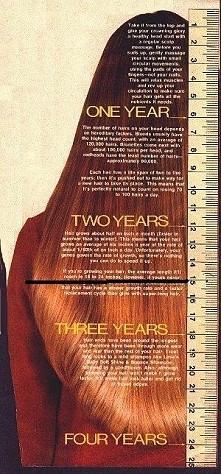 jak szybko rosną włosy