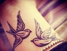 tattoo with a dove