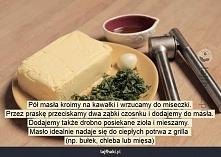 Jak zrobić masło czosnkowe?