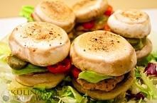 Pieczarkowe burgery