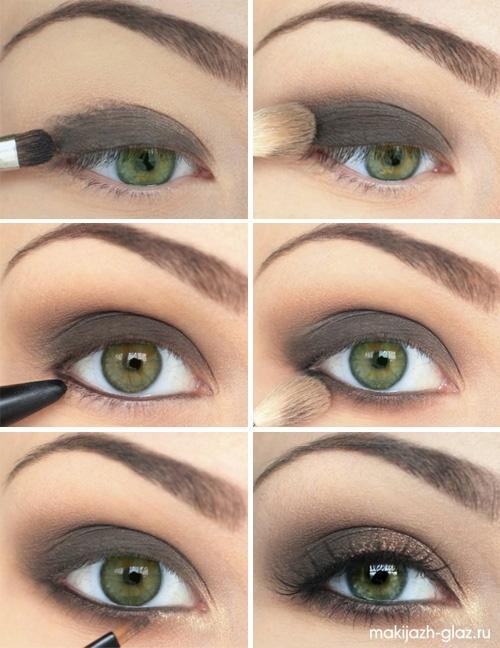 Przepiękny Makijaż Dla Zielonych Oczu Na Makijaż Zszywkapl