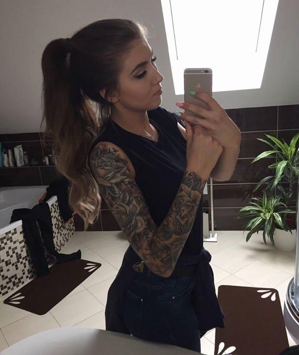 Deynn I Jej Cudny Rękaw Na Tatuaże Piercing Modyfikacje Zszywka Pl