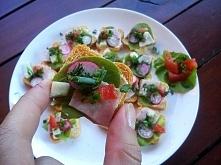 kanapeczki idealne na imprezę i grilla :)