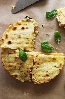 Domowa Quesadilla z serem i kurczakiem; po przepis kliknij w zdjęcie :)