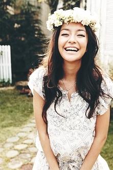 Gdy się uśmiechasz śmieje się cały świat.