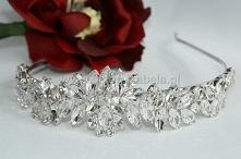 Tiara z kryształami