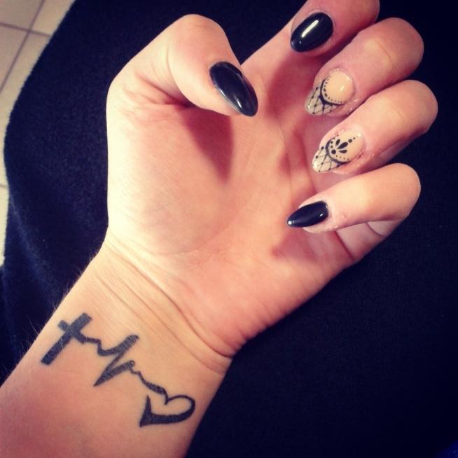 Paznokcie Tatuaż Na Tatuaże Zszywkapl