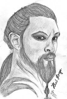 Khal Drogo.... My Sun and Stars