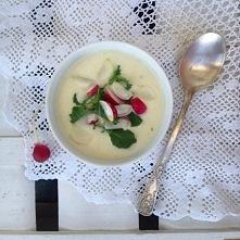 Zupa krem z rzodkiewki :) K...