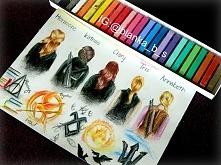 Harmione, Katniss, Clary, Tris, Annabeth